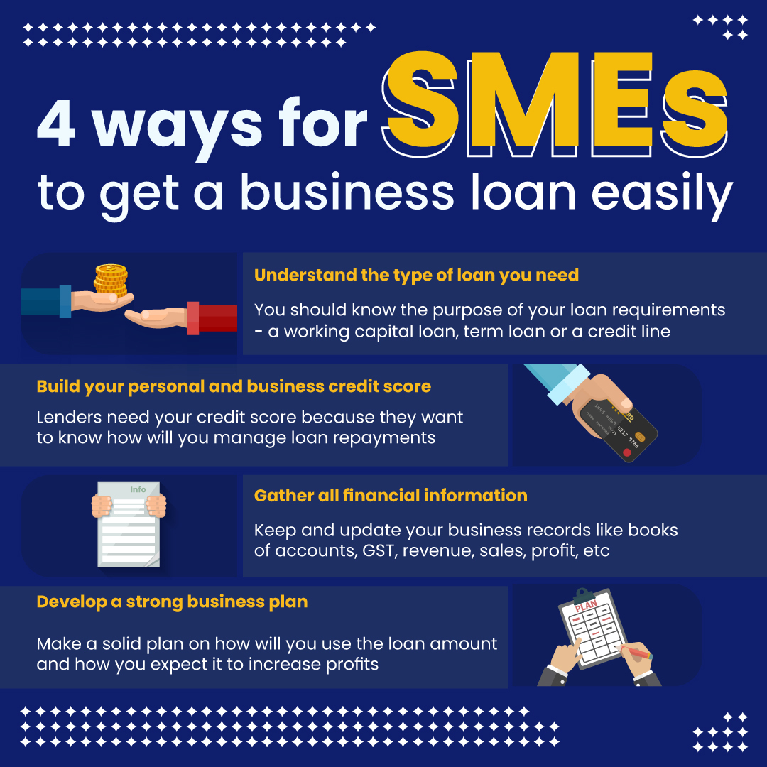 ways for sme's to get business loan easily