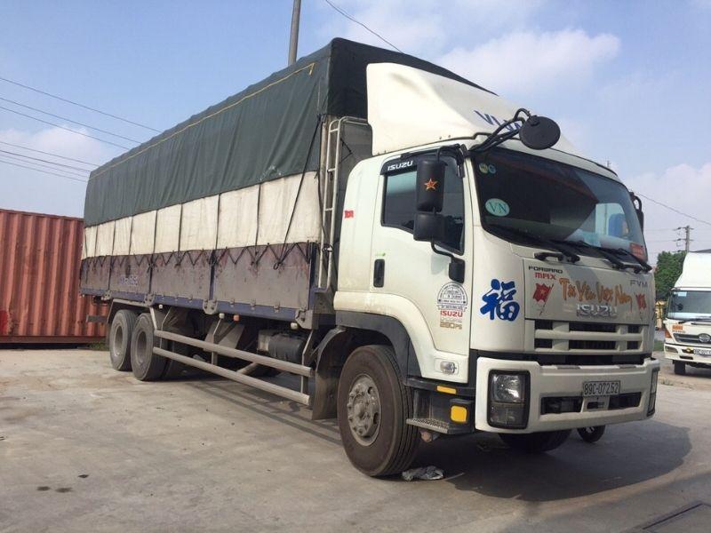 Năng lực vận chuyển Bình Dương đi Quảng Nam