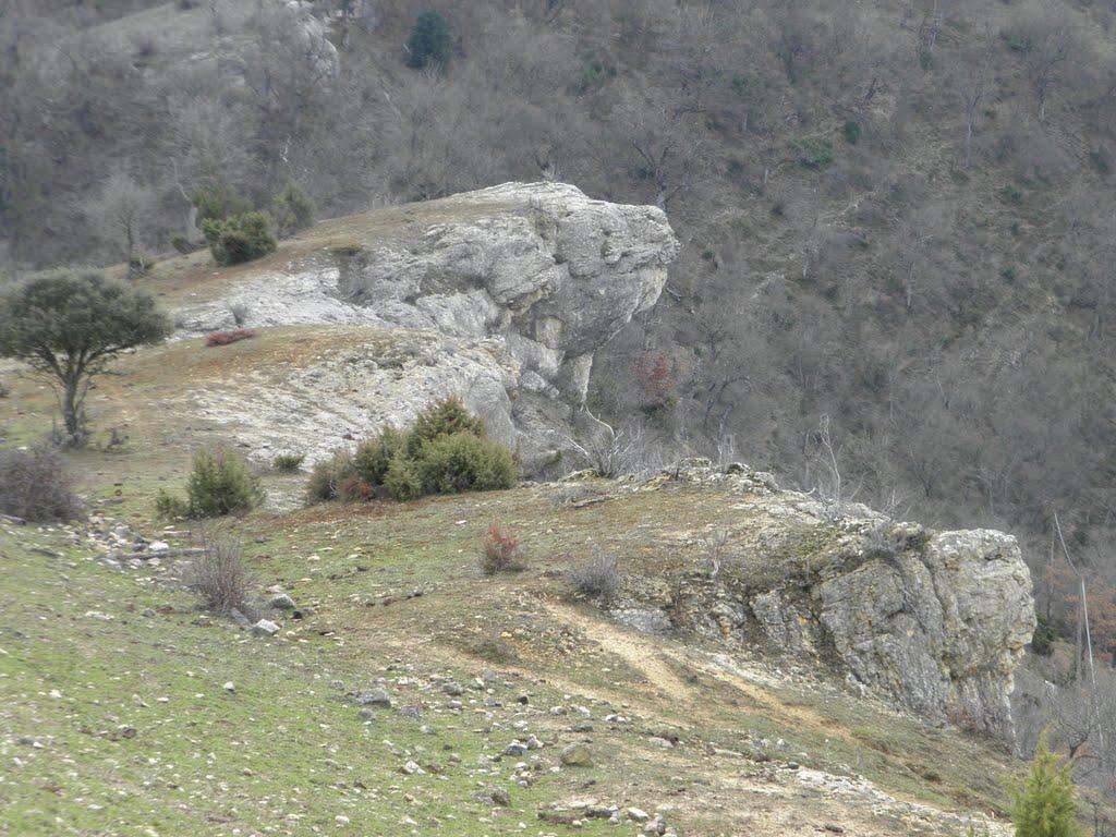 Promontorio de Atxoste, sobre el río Ega-Berrón. Foto de Javier Suso