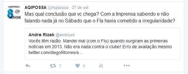 Twitter para André Rizek