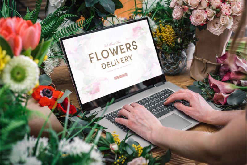 花 パソコン
