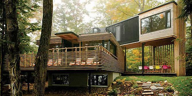 Dosis arquitectura excepcionales casas construidas con - Casa de contenedores ...