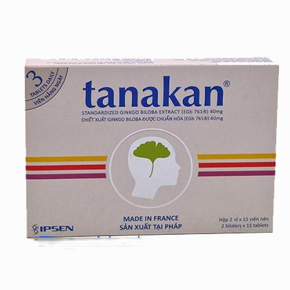 Thuốc bổ não Tanakan- giúp giảm các cơn đau nửa đầu