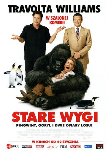 Przód ulotki filmu 'Stare Wygi'