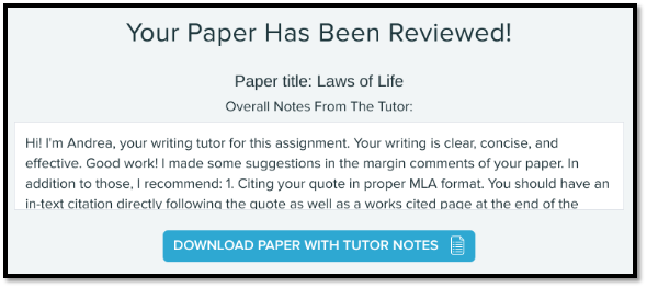 WritingLab_Tutor-me_feedback_paper