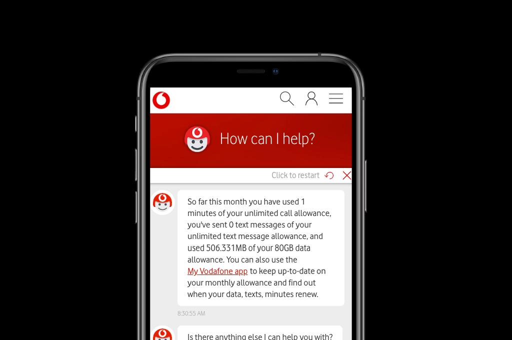 Vodafone's chatbot ToBi