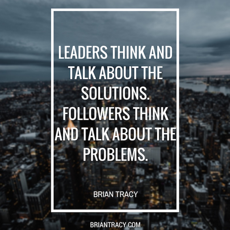 Leadership Quotes Leaders Think And