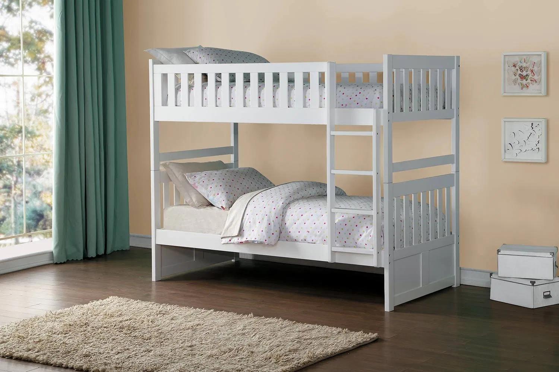 Mẫu giường tầng đơn giản, tinh tế