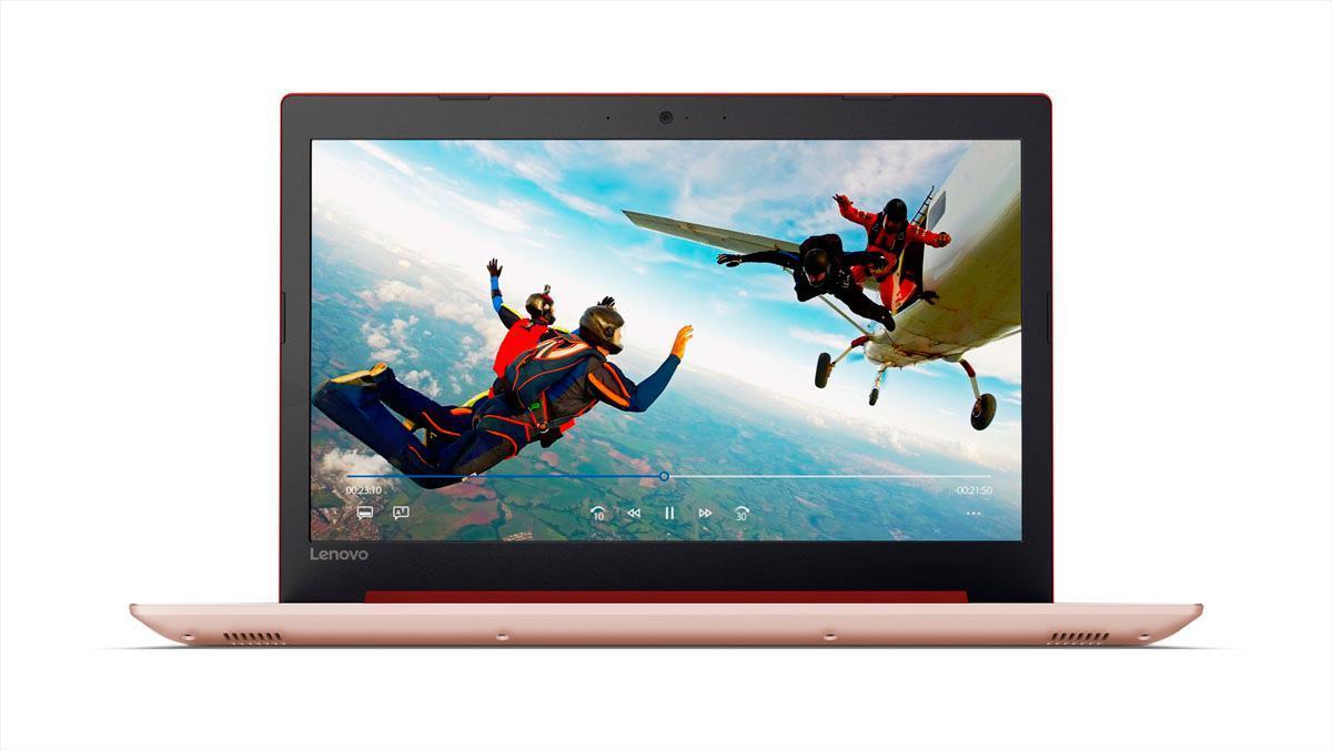 Фото2  Ноутбук Lenovo IdeaPad 320-15 Coral Red (80XH00W4RA)