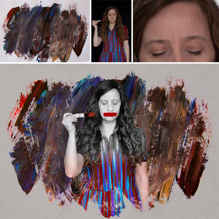 """""""Silenced"""" – Using The Smudge Tool To Turn A Photo Into A Painting"""