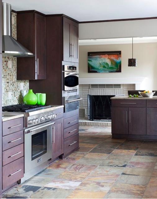 Textured Slate Floor Tiles