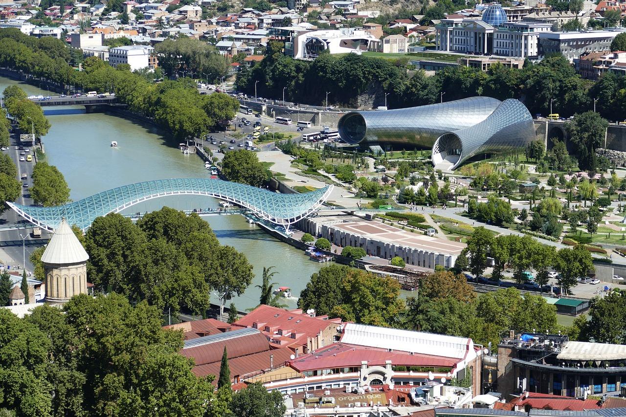 Pohled na Georgia, Tbilisi