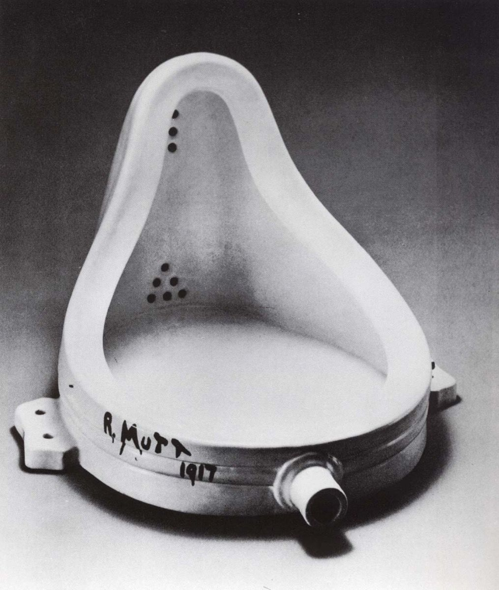 Image result for duchamp fountain""