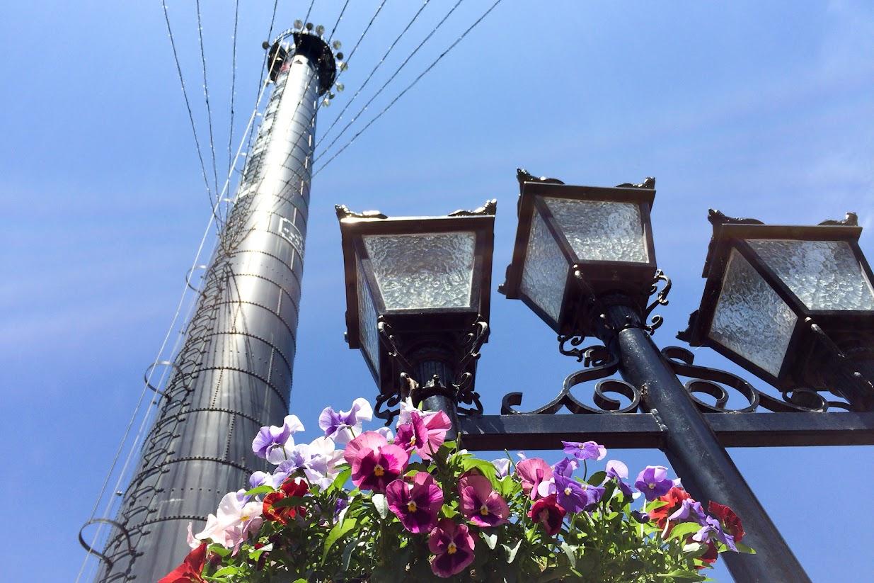 サッポロファクトリー レンガ館の煙突