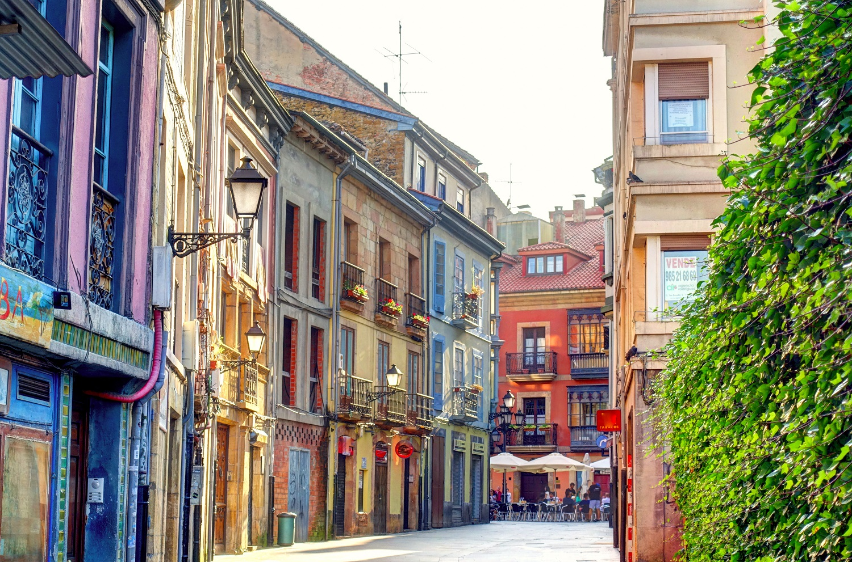 Casco antiguo de Oviedo, Asturias