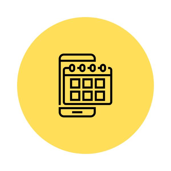 Aplicativo de academia Nexur - Agendamento de aulas