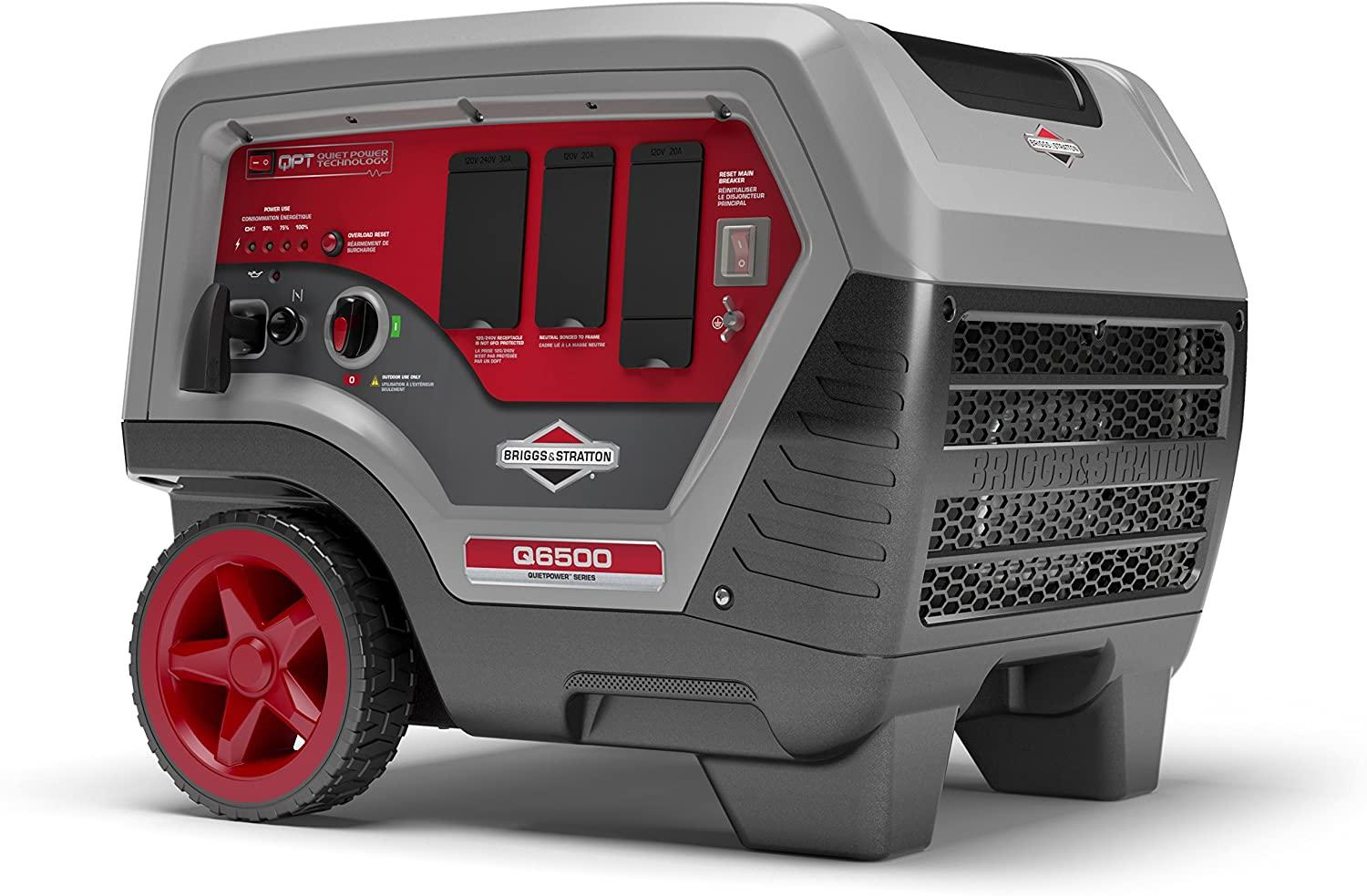 BRIGGS AND STRATTON 30675 Q6500 INVERTER GENERATOR