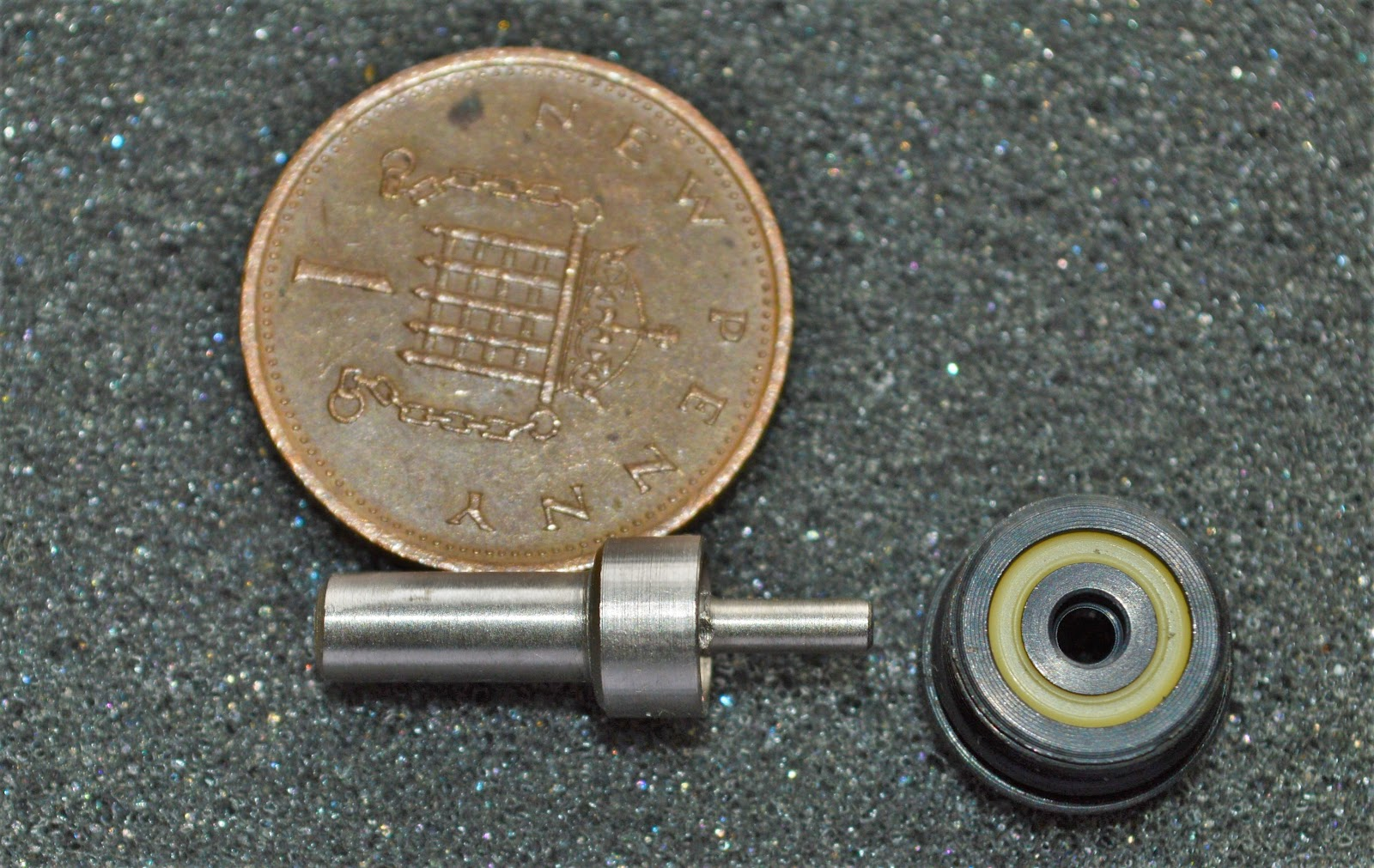 the valve stem