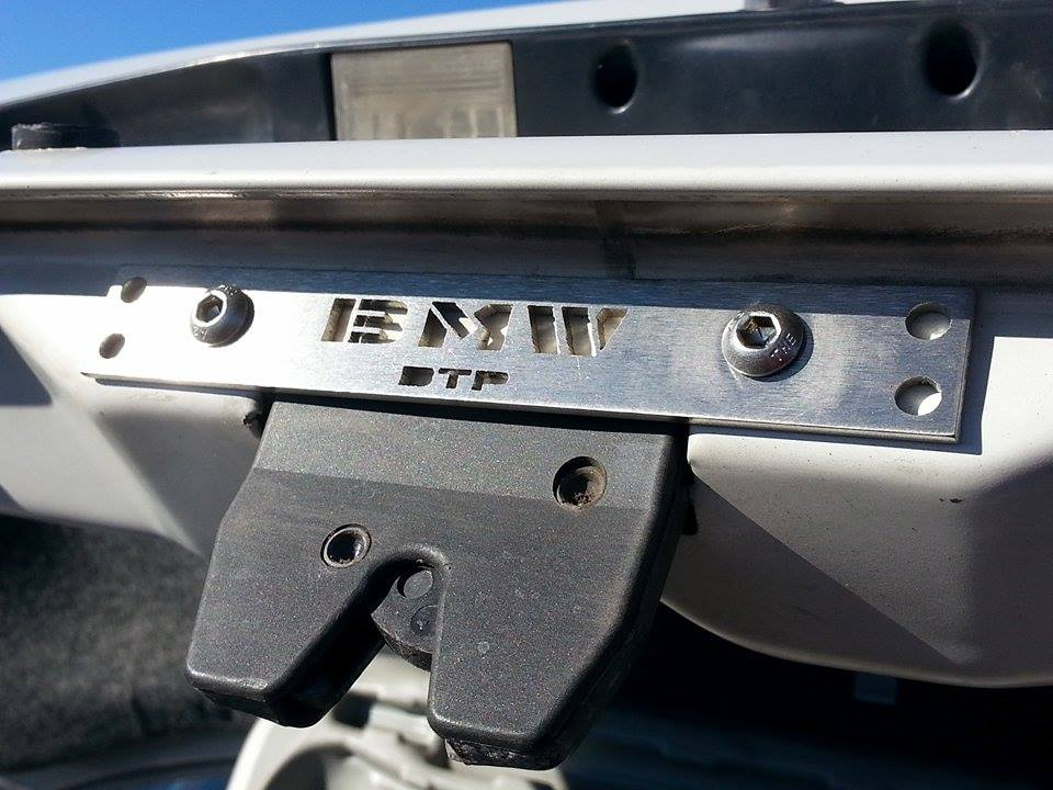 E36 Dtp Presents E36 Trunk Reinforcement Plate