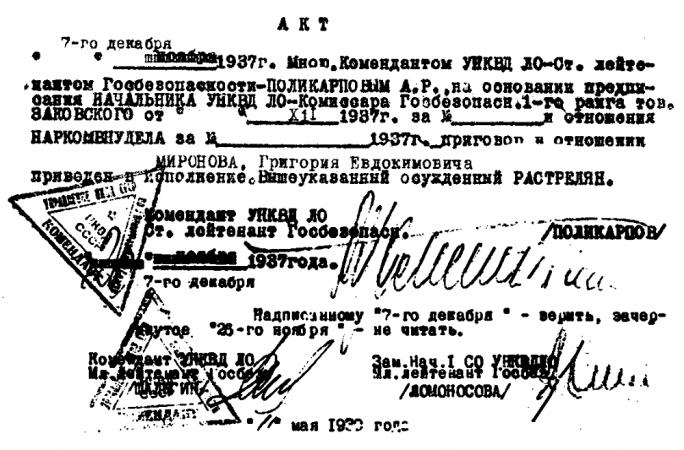 Ленинградский мартиролог. Т. 4. 1999. Ил. 137.