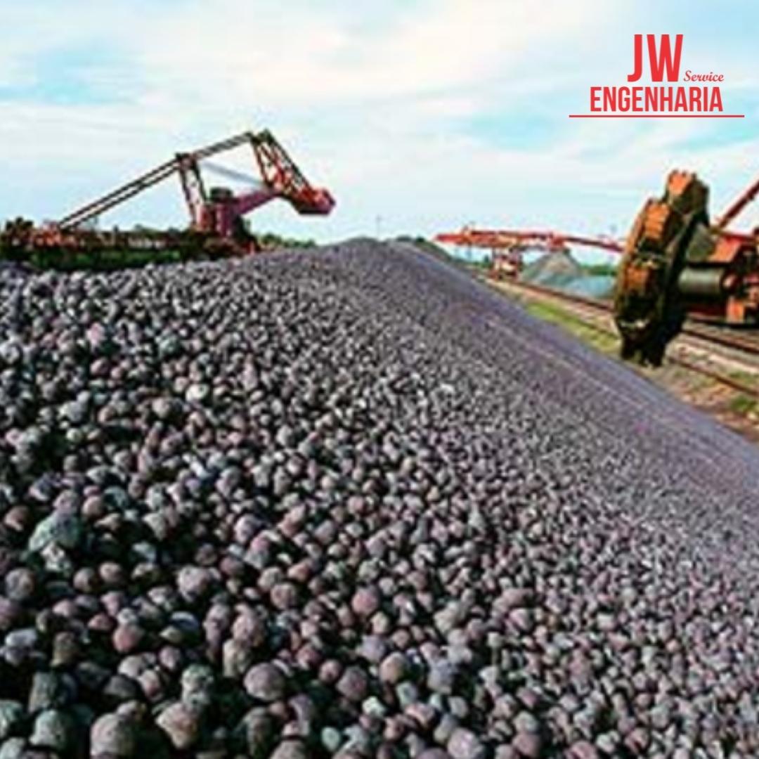Pelotas de Minério de Ferro