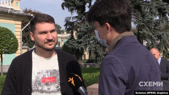 Павло Халімон підтвердив журналістам факт цієї зустрічі в Офісі президента