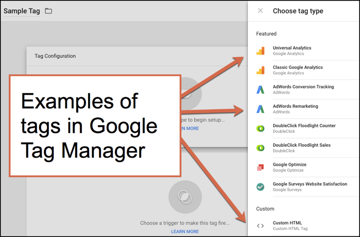 Tags in Google Tag Manager