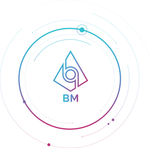 Логотип Bitcomo