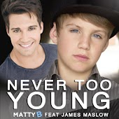 Never Too Young (feat. James Maslow)