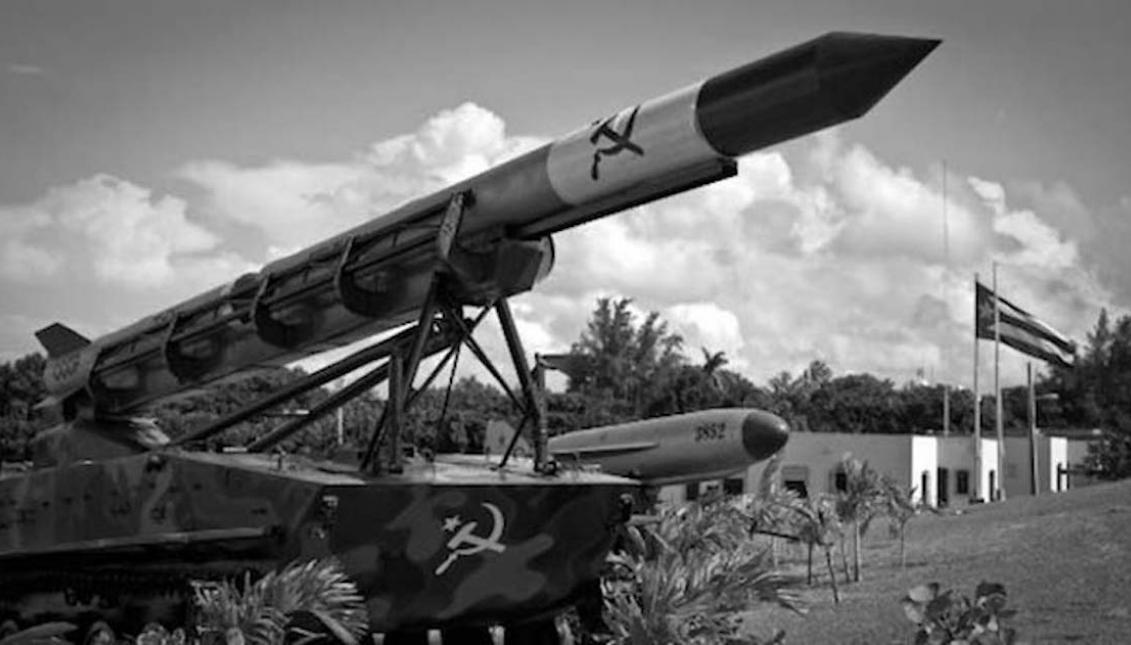 Rampas de emplazamientos de misilessoviéticos en la isla de Cuba. Octubre de 1962.