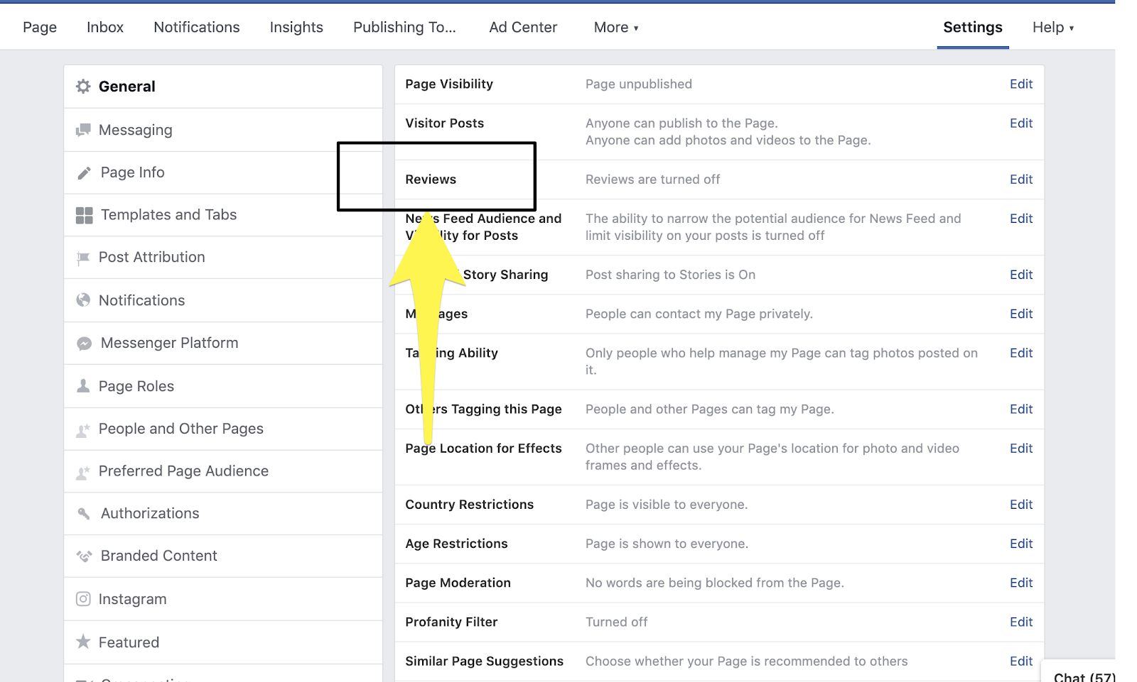 How to Remove Reviews from your Facebook Business Page 5