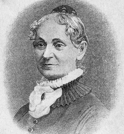 Chân dung Lydia E.Pinkham. (1819 - 1883).