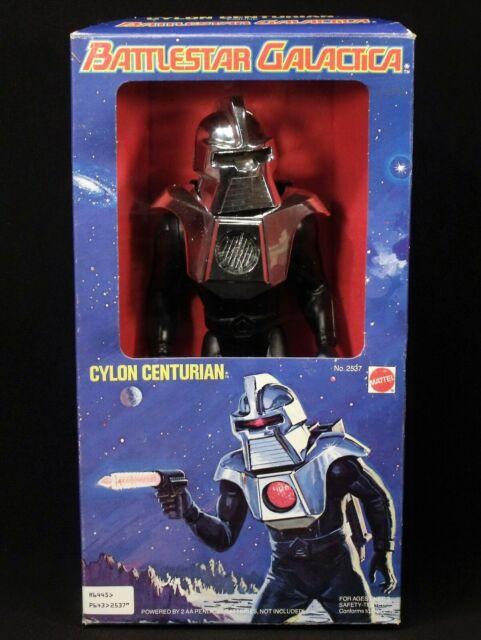 "RARE MIB 1978 BATTLESTAR GALACTICA ORIGINAL 12"" CYLON CENTURIAN MATTEL COMPLETE"