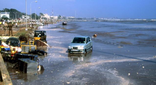 Tsunami 2004 hit AP and Tamilnadu to the worst