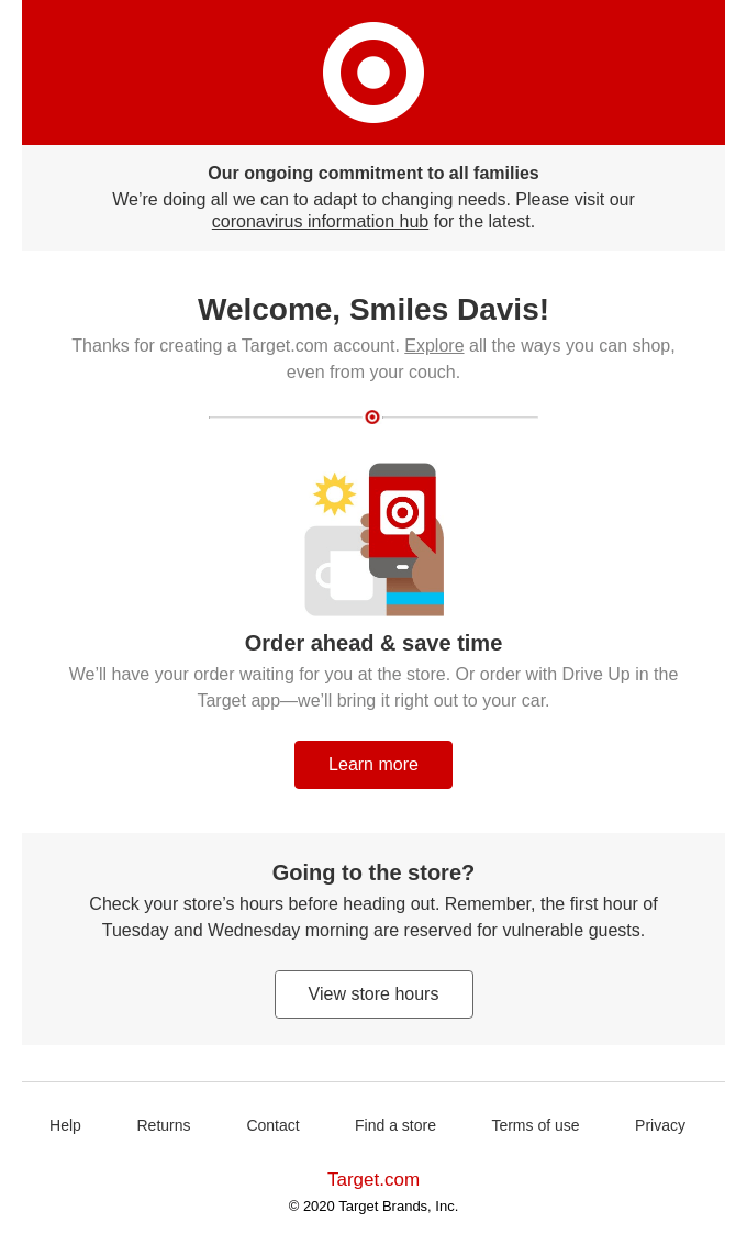 Salesforce email template