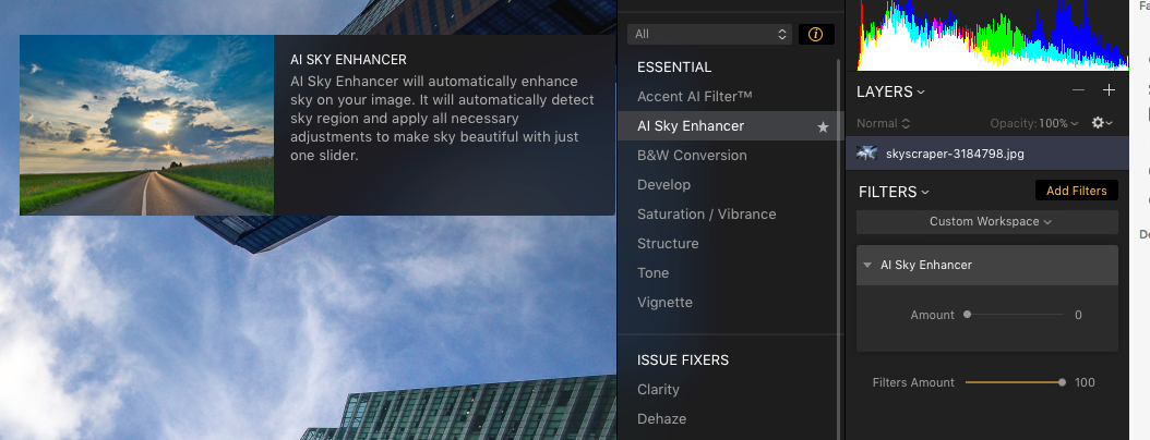 Ai Sky Enhancer