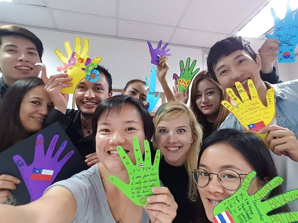 We come from different countries, but we are the same ❤ @Scots English  College #Australia #st… | Improve english speaking, Improve english,  English language course