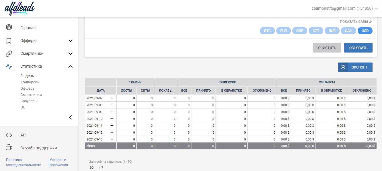 Обзор CPA-сети Alfaleads: 2000+ офферов и топ условия