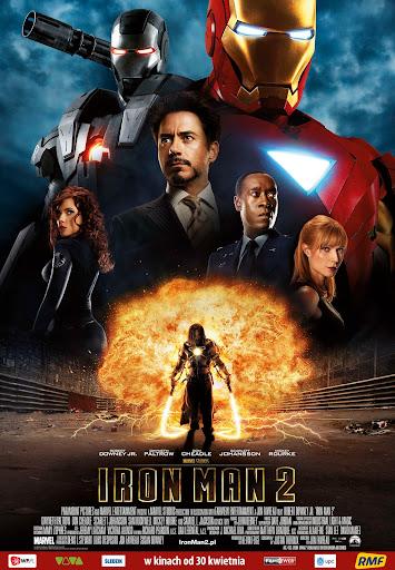 Polski plakat filmu 'Iron Man 2'