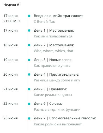 Отзыв о марафоне «От Intermediate to Advanced» Марины Могилко и Вени Пака на платформе LinguaTrip.com