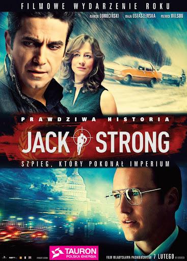 Polski plakat filmu 'Jack Strong'