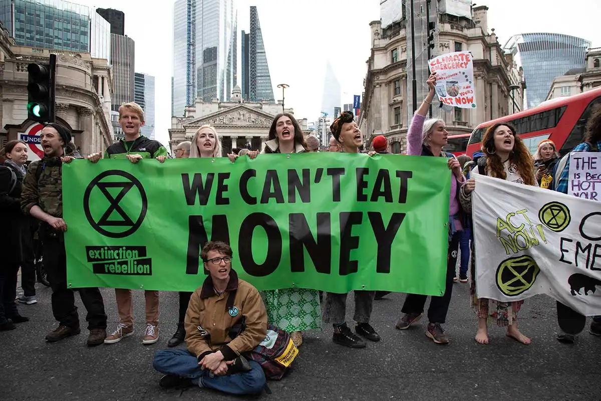 Las-protestas-Extinction-Rebellion-cambio-climático-calentamiento-global-