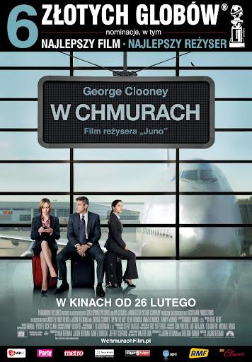 Polski plakat filmu 'W Chmurach'