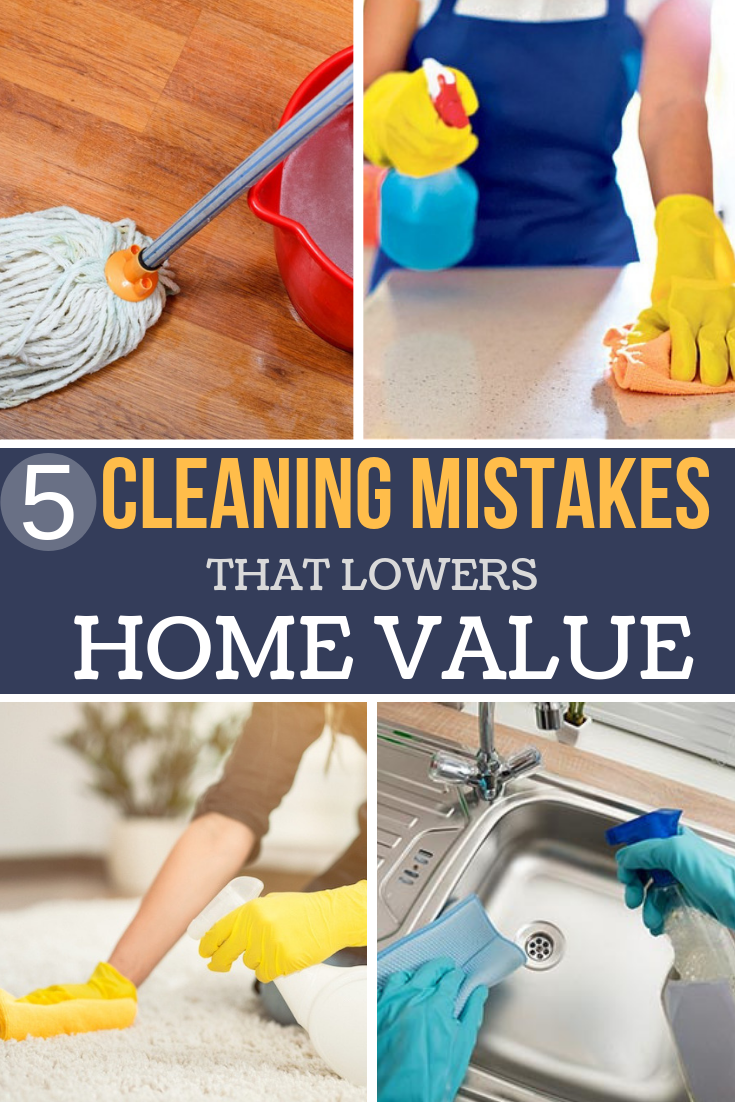 If you're a responsible homeowner, you maintain your property. Here are a few common cleaning mistakes and how to avoid them.