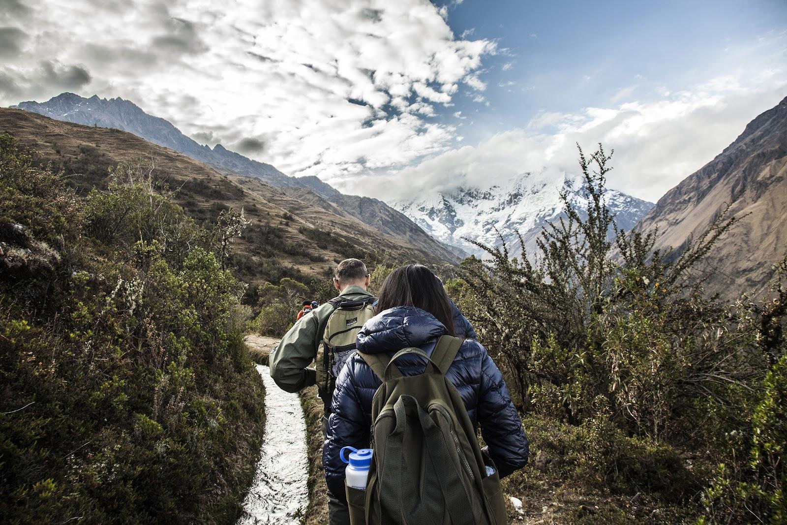 Salkantay Trek para Machu Picchu
