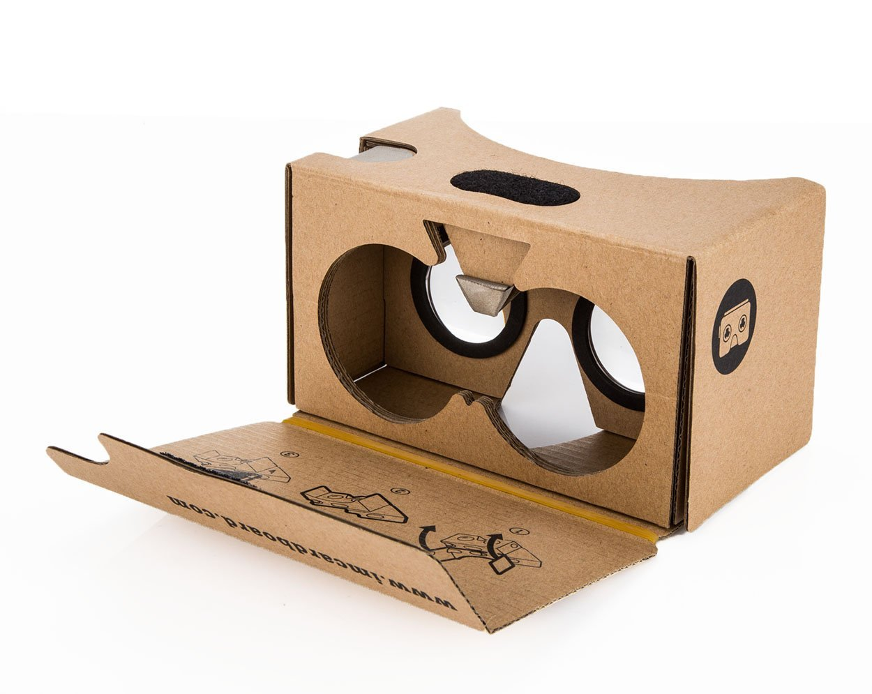 Google Cardboard-- use your phone to create VR experience