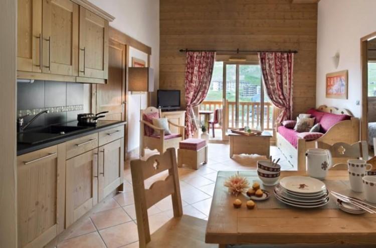 Apartamento con capacidad para 4 en Résidence CGH Le Telemark