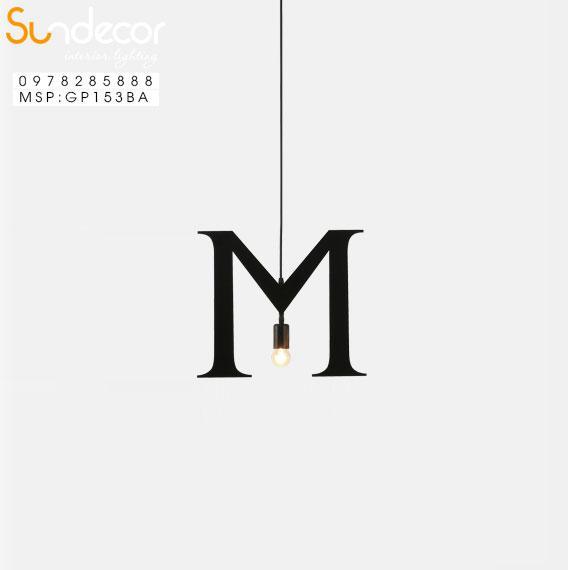 Đèn Thả Chữ M GP153BA