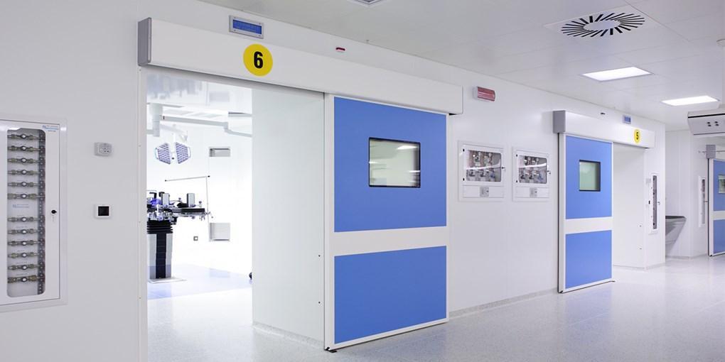 steel door for cleanroom