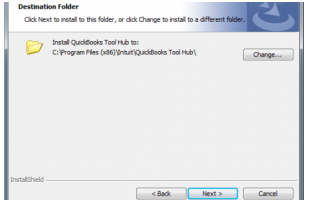 install quickbooks tool hub to your system